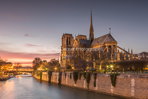 Twilight II, Notre Dame Cathedral