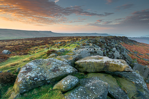 Carhead Rocks Sunrise, Peak District
