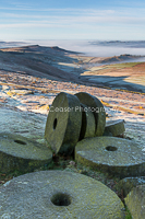 Dawn Frost, Stanage Edge