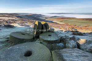 Frost On The Edge, Stanage
