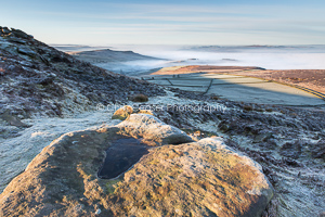 Owler Tor from Stanage Edge