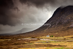 Stormclouds over Buachaille Etive Mor