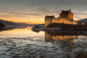 card 291 - Crossover Light, Eilean Donan Castle