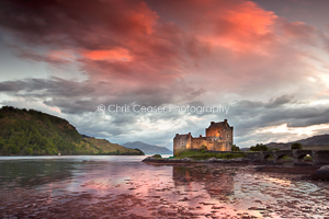 The End Of The Day, Eilean Donan Castle