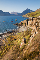 Around the bay, Elgol