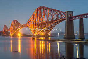 Forth Bridge Illumination, South Queensferry