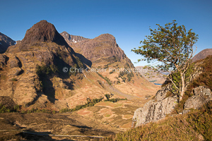 Clear skies over Glen Coe