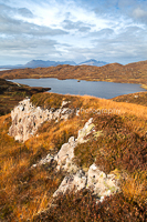 View To The Cuillins, Loch Dhughaill