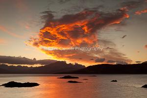 Fireclouds over the Cuillin