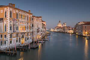 Looking East Over The Grand Canal, Venice