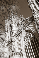 Lp15. The West Front. York Minster